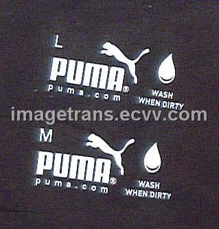 IRON-ON LABELFREE HEAT TRANSFER PAPER/FILM FOR CLO from