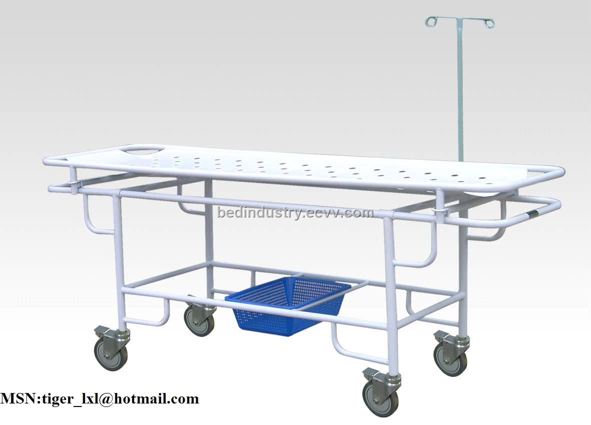 Plastic-sprayed stretcher trolley B-11