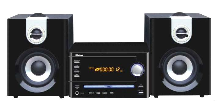2.2/2.0 Mini Audio System with DVD Player  (MDV-913)