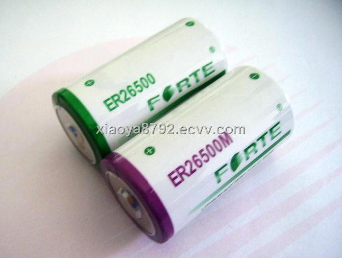 C SIZE Lithium Battery Cell (ER26500)