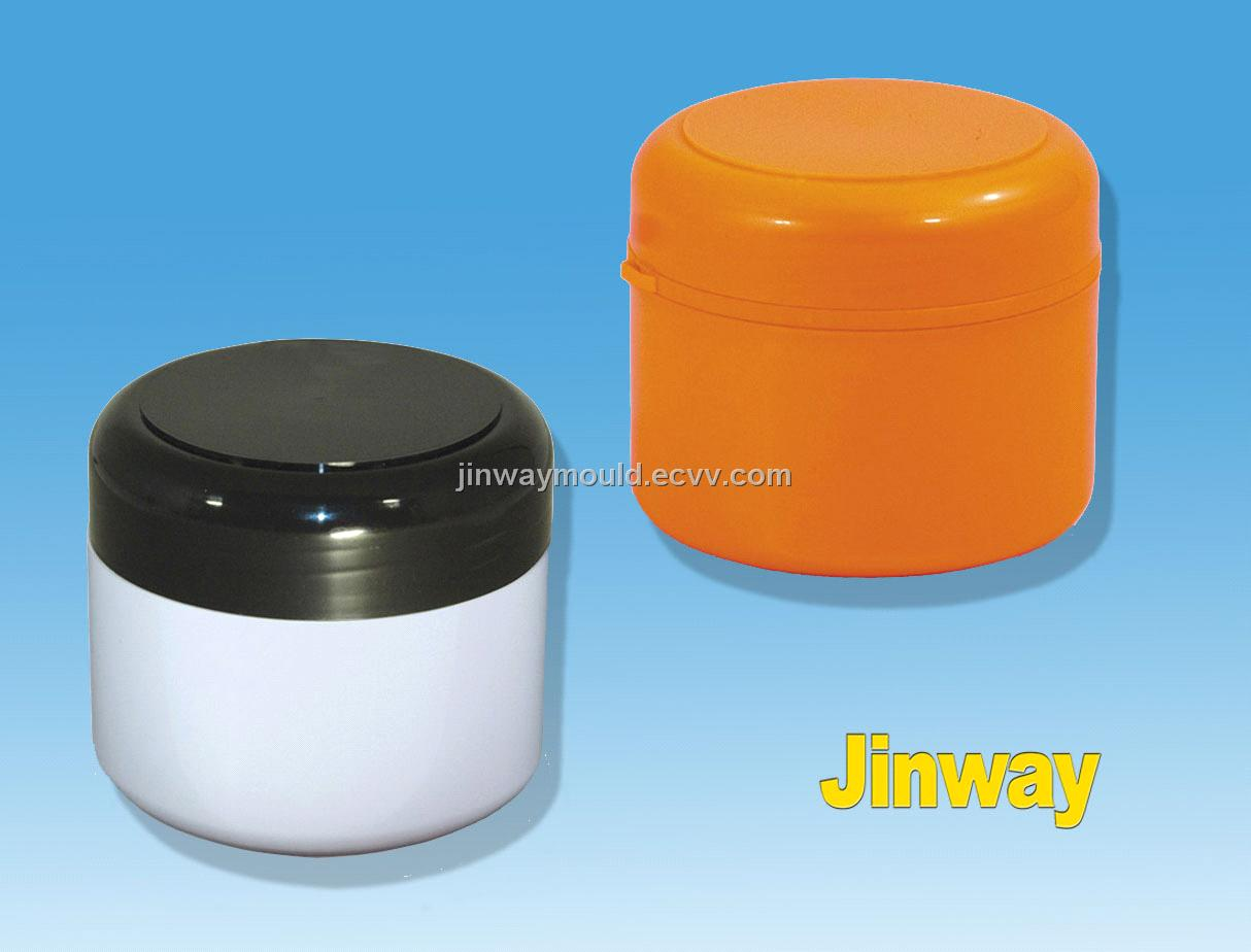 plastic round container lid mould