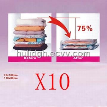 Vacuum Sealed Storage Bags For Clothes