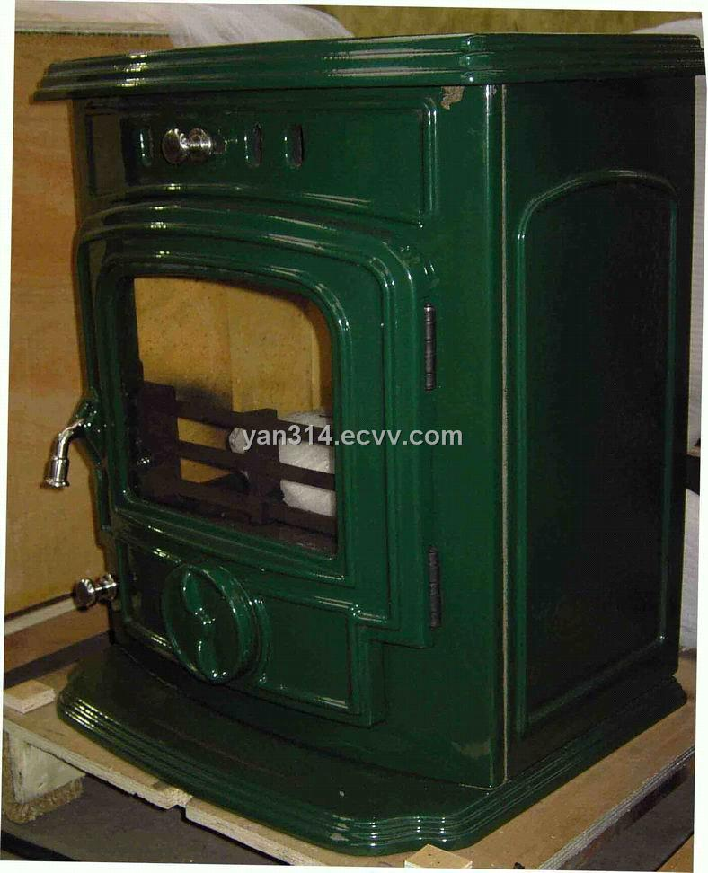 Wood Stove 629 Green Enamel Type Purchasing Souring