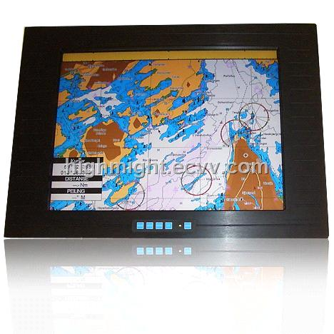 10.4 Inch Industrial Lcd Monitor with Touch Function and Waterproof Front Bezel