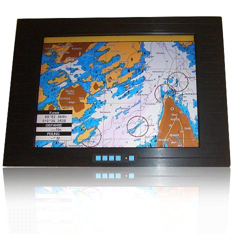 15 Inch Industrial LCD Monitor with Touch Function And Good Viewangle