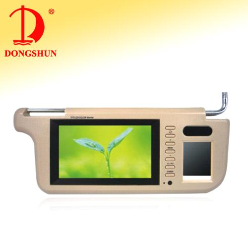 7-Inch Car Sun Visor Monitor with USB/SD
