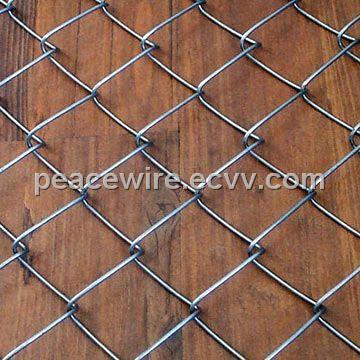 Diamond Wire Mesh, Made of Low Carbon Steel Wire