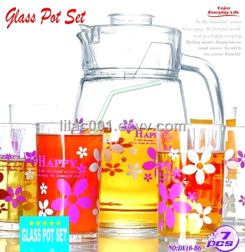 Glass Pot Set (DX16-B6)