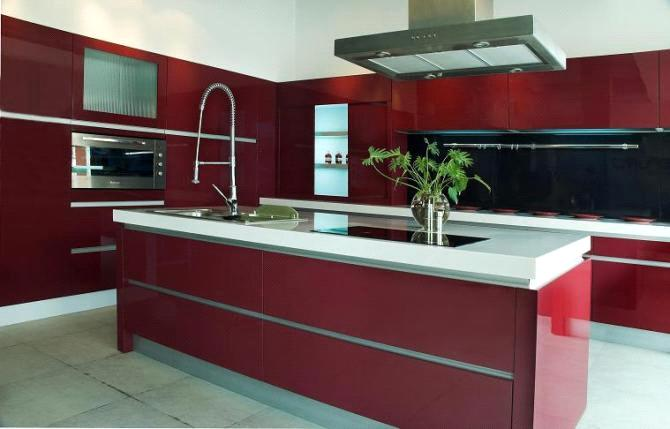 Modern European Style Kitchen Cabinet Modern Cupboard