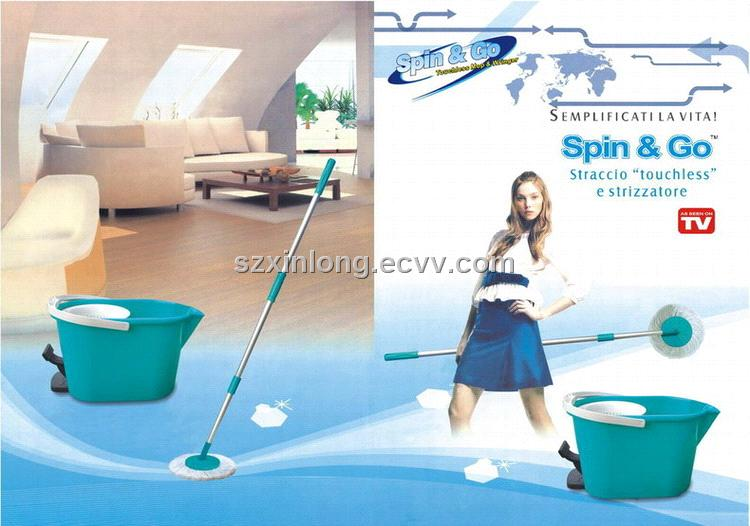Spin & Go Touchless Mop & Wringer
