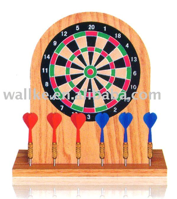 Magnet Desktop Dartboard in Color Box
