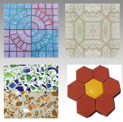 Terrazzo Tile Artificial Stone For Flooring From China