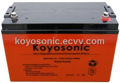 Deep Cycle Battery -12V100AH-NPC100-12