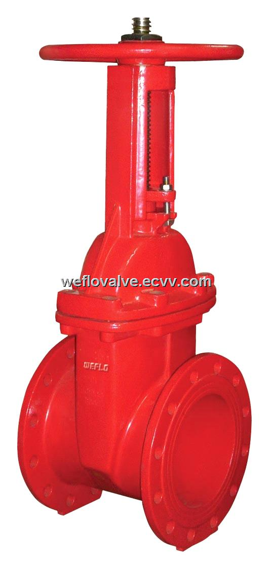 Os Amp Y Resilient Seated Gate Valve Fm Approved And Ul