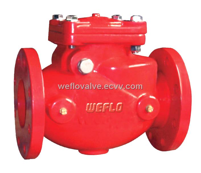 Swing Check Valve 300psi From Hong Kong Manufacturer