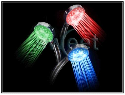 LED Shower Head (3 Colors)
