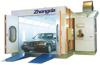 Automobile Spray Booth Good Spray Booth Factory