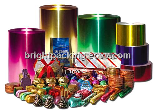Chocolate Wrapping Aluminum Foil From China Manufacturer
