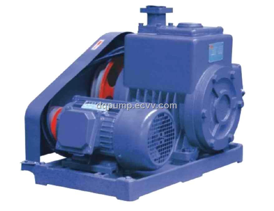 2x Series Double Stage Rotary Vane Vacuum Pump