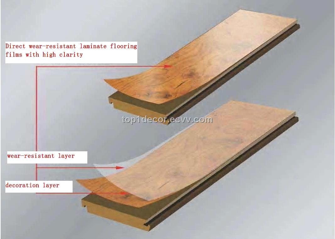Direct Wear Resistant Laminate Flooring S With High Gloss