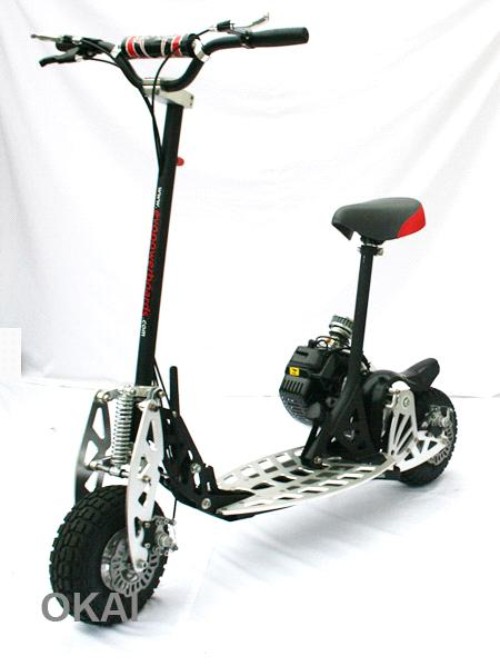 EVO-2x the First One 2-Speed Gearbox 49cc Gasoline Scooter