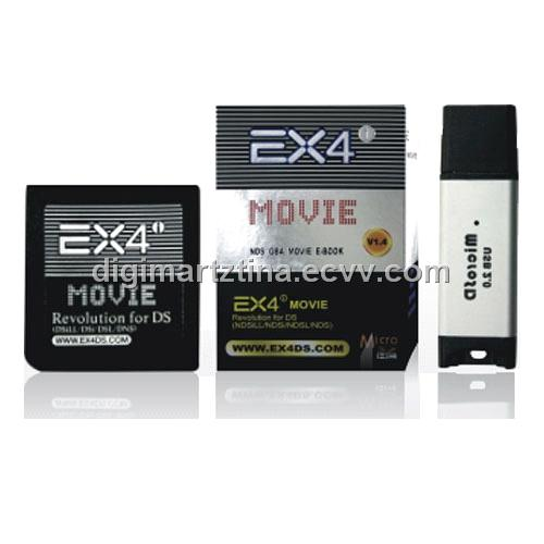 Ex4 Dsi Ex4ds GBA / Movie Card for DSL DSi DSiLL from China