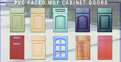 PVC Film Faced MDF Cabinet Door Purchasing, Souring Agent