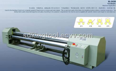 3-Roller Bending Machine (SL-343B)