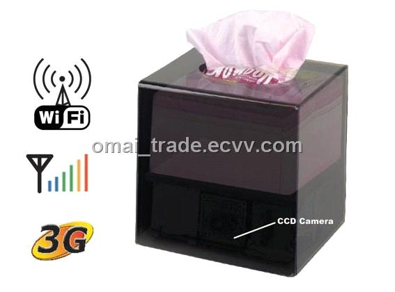 Tissue Box DVR Camera