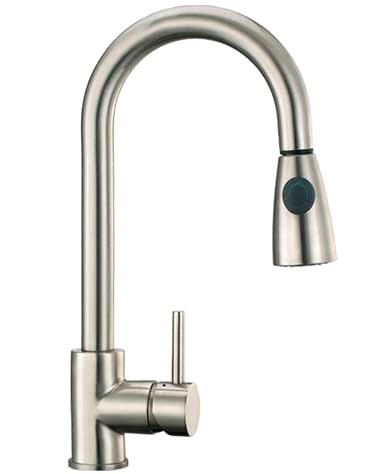 Brushed Nickel Kitchen Faucet Sink Faucet Taps purchasing, souring ...