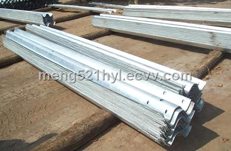Corrugated Sheet Steel Beams for Guardrail