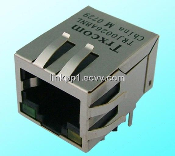 Connector with 10/100/1000 LAN Transformer (RJ45)