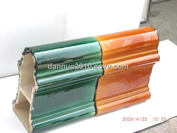 Ceramic Glazed Roof Tiles Ridge Tile From China