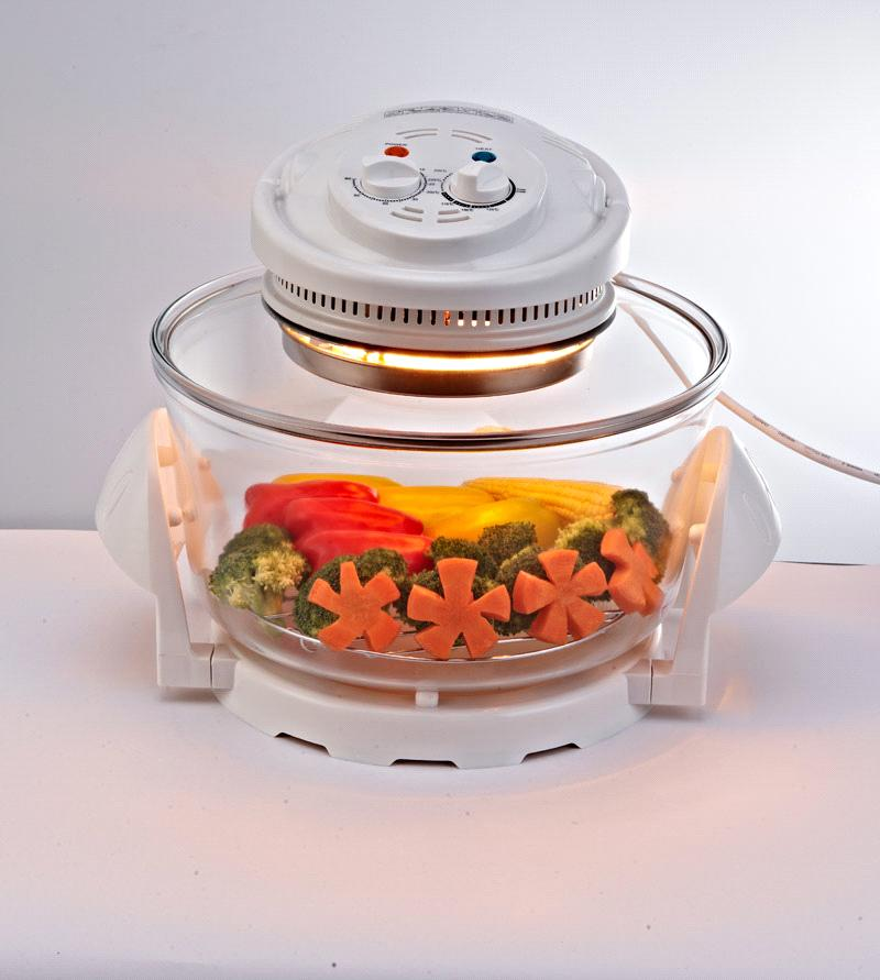 12L Glass Bowl Halogen Oven (JLH-12A OEM)