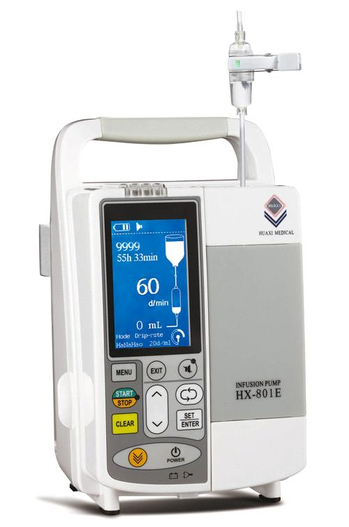 Infusion Pump HX-801E, CE Certified