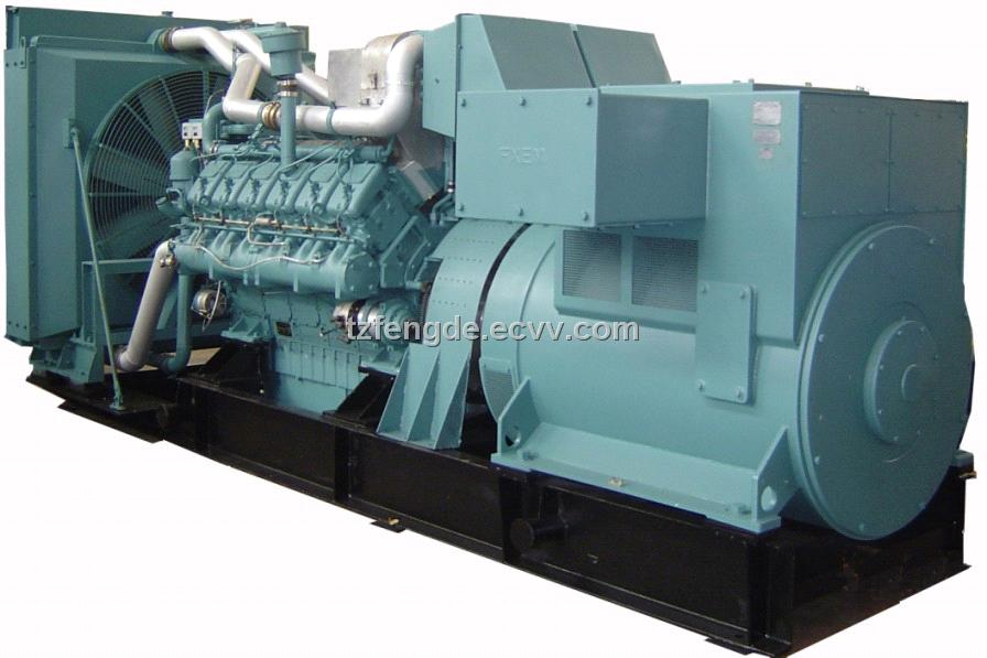 MWM Diesel Generator Set (150kW-1700kW)