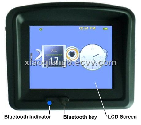 Motorcycle GPS Bluetooth