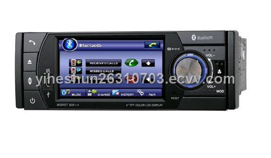 4-inch 1 DIN Digital Touch Screen In-Dash Car DVD Player