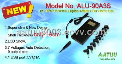AC 90W Universal Laptop Adapter for Car Use
