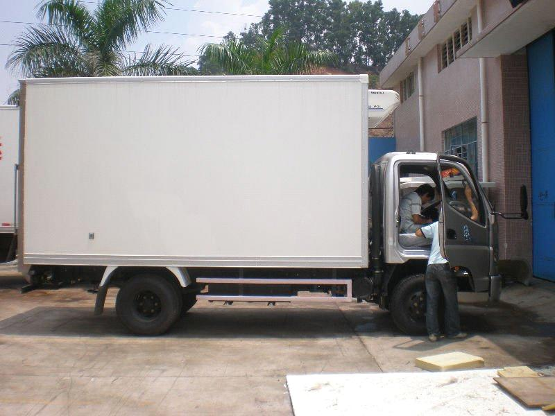 Freezer refrigeration Truck Body from China Manufacturer