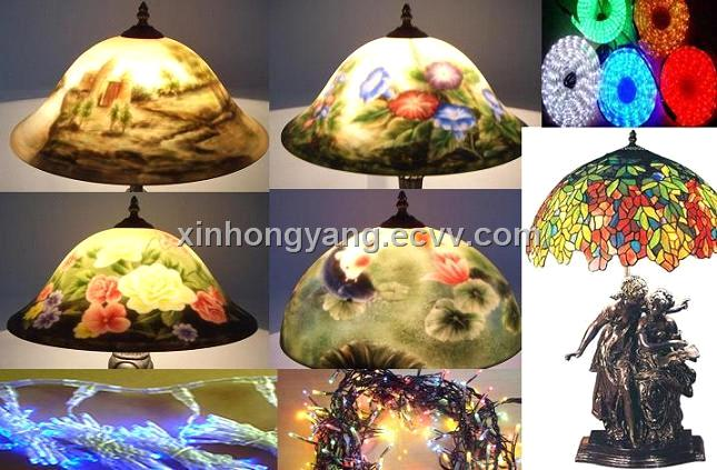 Glass Hand Painting Lamp purchasing, souring agent | ECVV.com ...