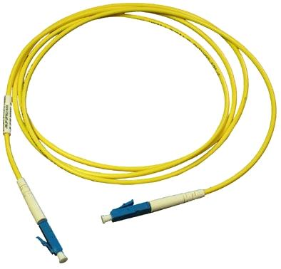 Monoprice fiber optic cable lc to lc, om3, 50/125 type, multi.