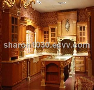 Raised Squared Classic Solid Wood Kitchen Cabinet