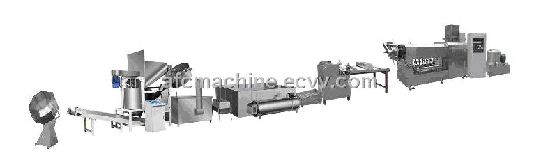 Snack Food Machinery---Fried Pellets