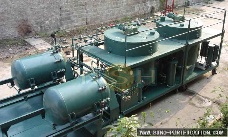 Sino-NSH Used Engine Oil Regeneration Machinery