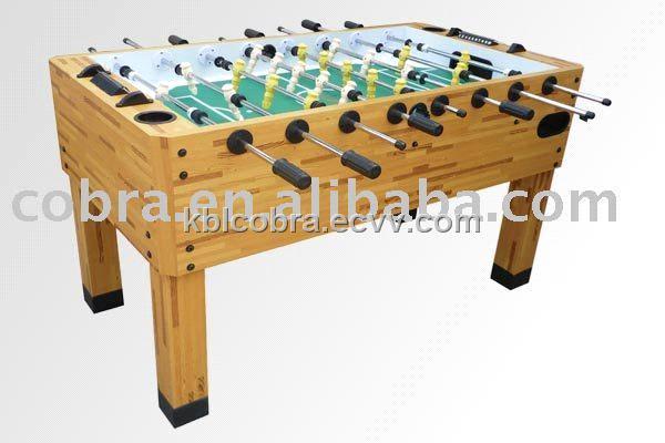 Wooden Foosball Soccer Table