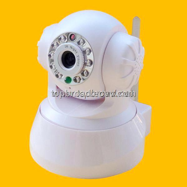 Megapixel IP Dome Camera CCTV Wireless System with 2 Way Audio (TB-PT02B)