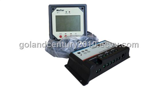 Duo-battery Solar Charge Controller with Remote Meter