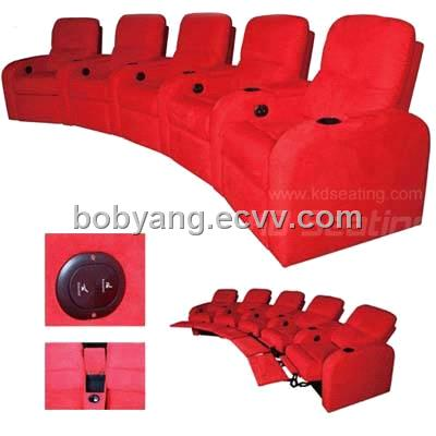 Home Cinema Seat Sofa Movie Theatre Chair Recliner Seating