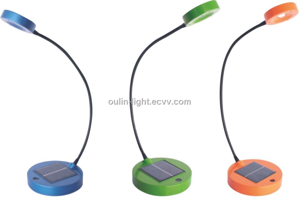 LED Solar Table Lamp